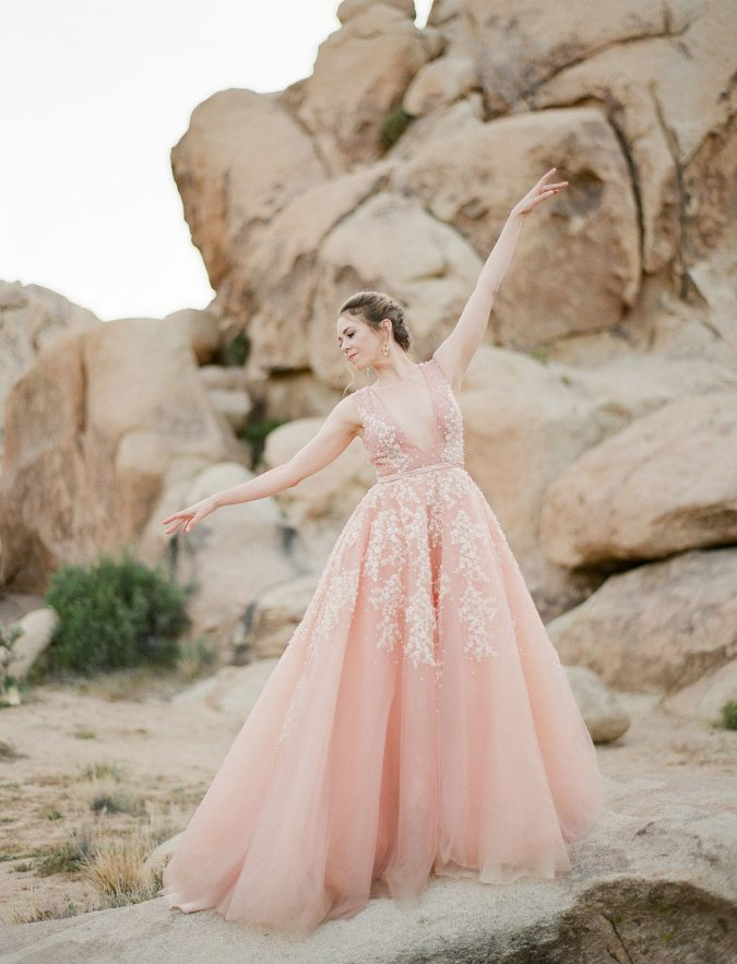 blush-pink-675x883 150+ Bridal Fashion Trends and Ideas for Fall/winter 2019