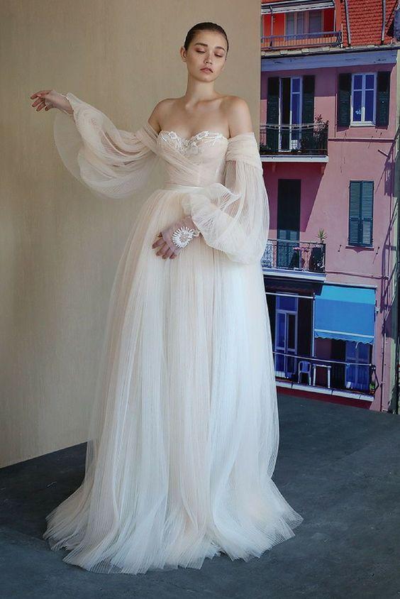 boho-ruffles2019... 150+ Bridal Fashion Trends and Ideas for Fall/winter 2019