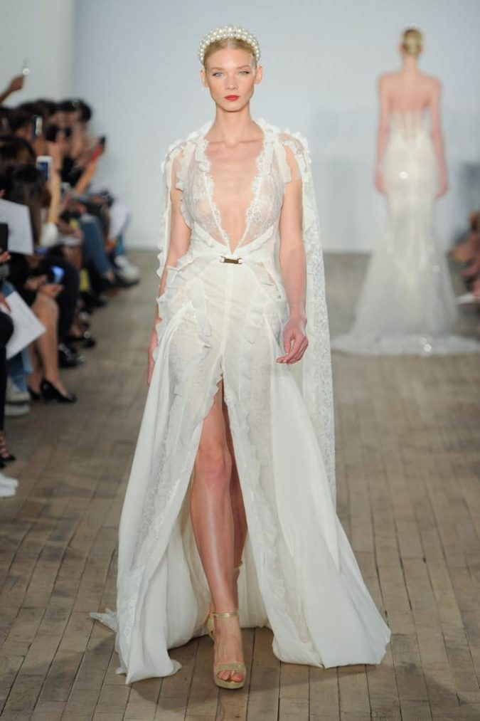 bridal-cape-675x1013 150+ Bridal Fashion Trends and Ideas for Fall/winter 2019