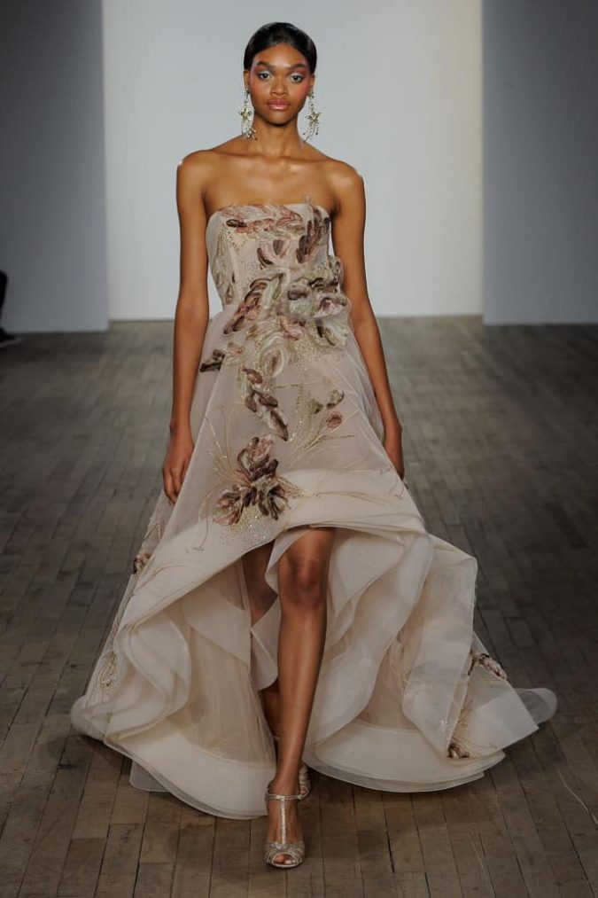 bridal-floral-675x1013 150+ Bridal Fashion Trends and Ideas for Fall/winter 2019