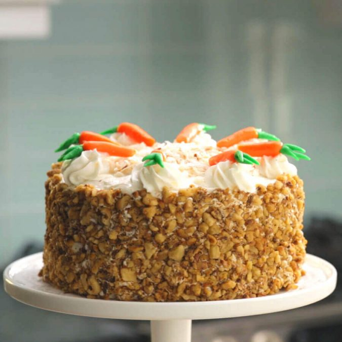 carrot-cake-2-675x675 Top 20 Most Delicious and Popular Cakes in the USA