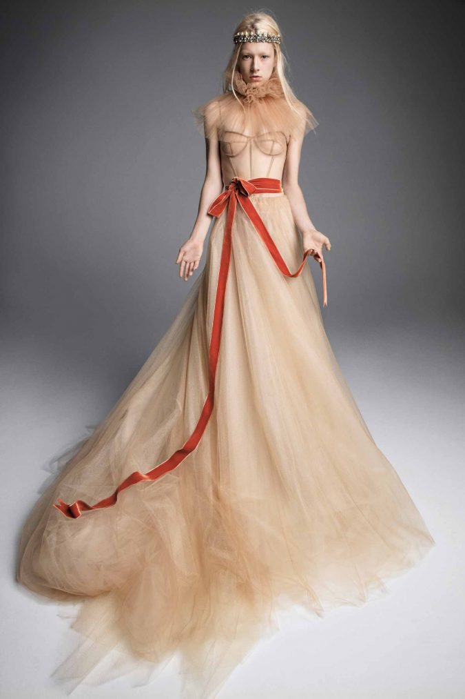 champaign-gown-675x1013 150+ Bridal Fashion Trends and Ideas for Fall/winter 2019