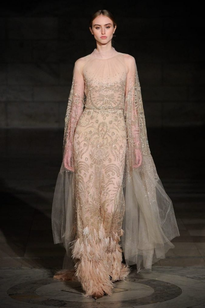 champaign-gown.-675x1013 150+ Bridal Fashion Trends and Ideas for Fall/winter 2020