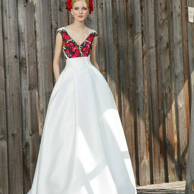 color-floral 150+ Bridal Fashion Trends and Ideas for Fall/winter 2020