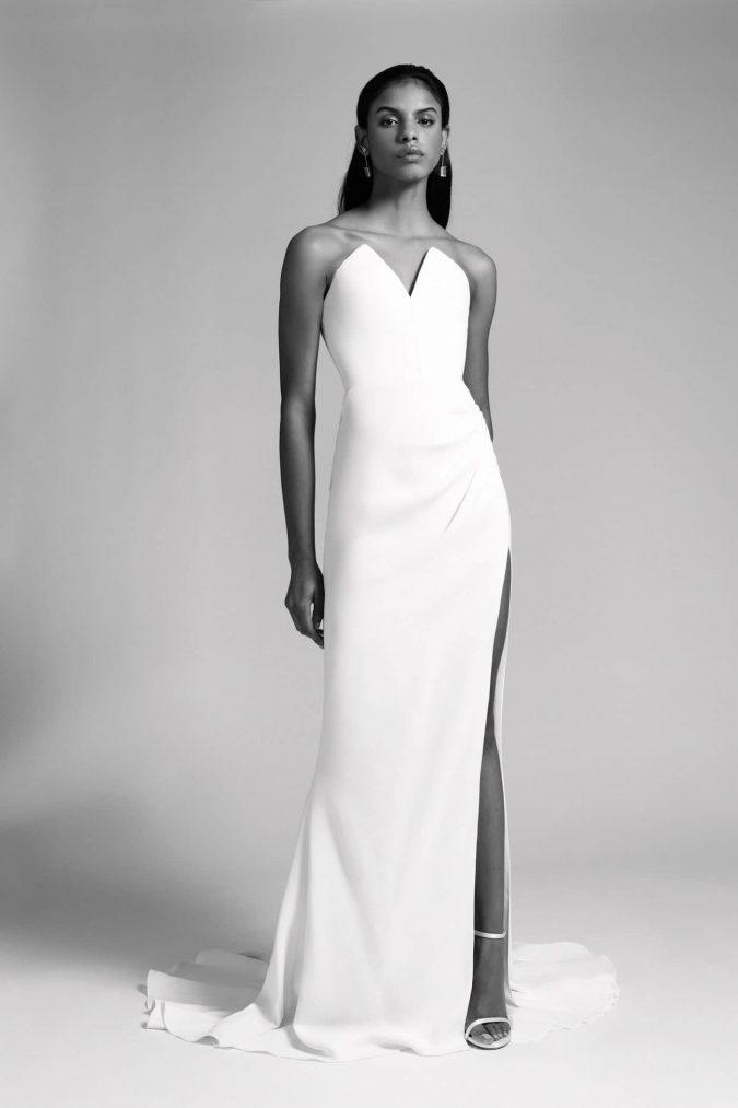 cushnie-fall-2019-bridal-675x1013 150+ Bridal Fashion Trends and Ideas for Fall/winter 2019