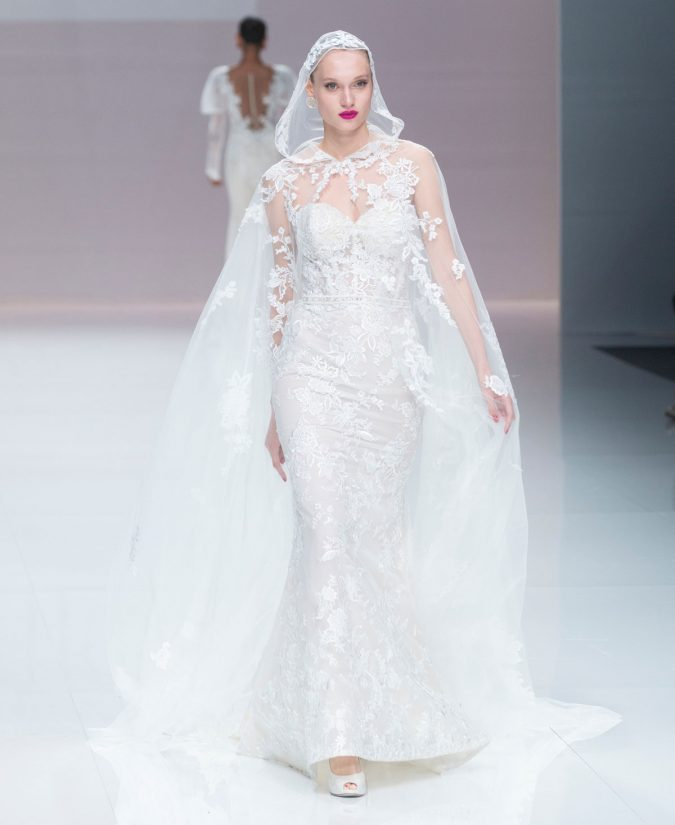 demetrios-catwalk-during-the-barcelona-bridal-fashion-week-runway-collection-2019_2-675x825 150+ Bridal Fashion Trends and Ideas for Fall/winter 2019