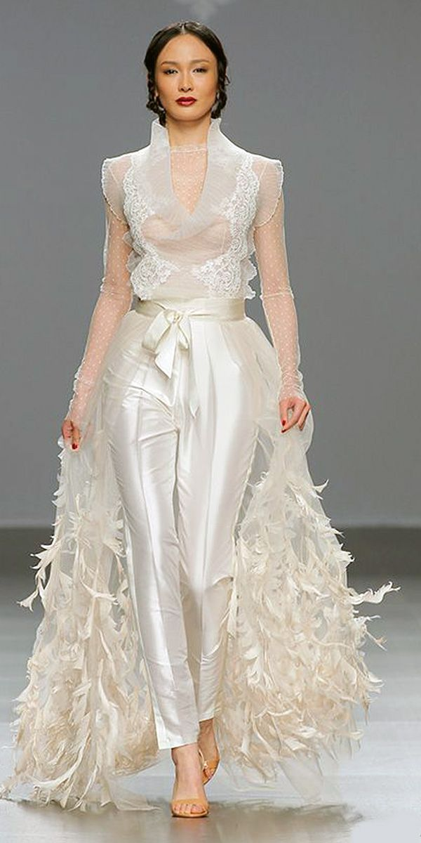 feathers-2019 150+ Bridal Fashion Trends and Ideas for Fall/winter 2020