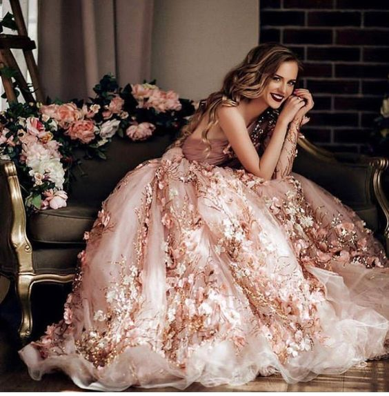 floral-2019 150+ Bridal Fashion Trends and Ideas for Fall/winter 2019