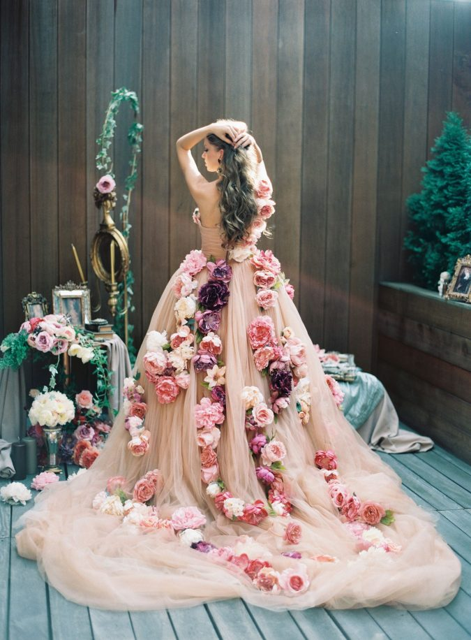 floral-gowns.-1-675x916 150+ Bridal Fashion Trends and Ideas for Fall/winter 2019