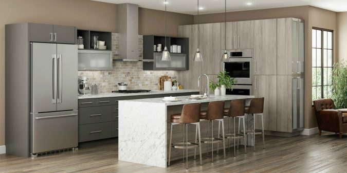 frameless-kitchen-cabinets-2-675x338 Top 10 Stylish and Practical Kitchen Design Trends for 2019