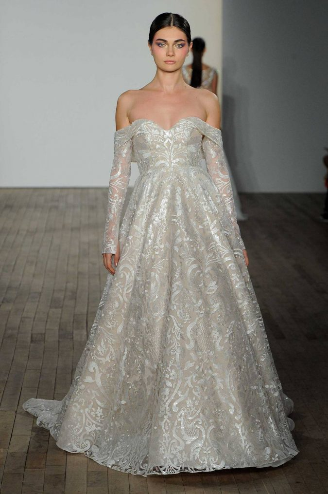 hayley-paige-675x1014 150+ Bridal Fashion Trends and Ideas for Fall/winter 2019
