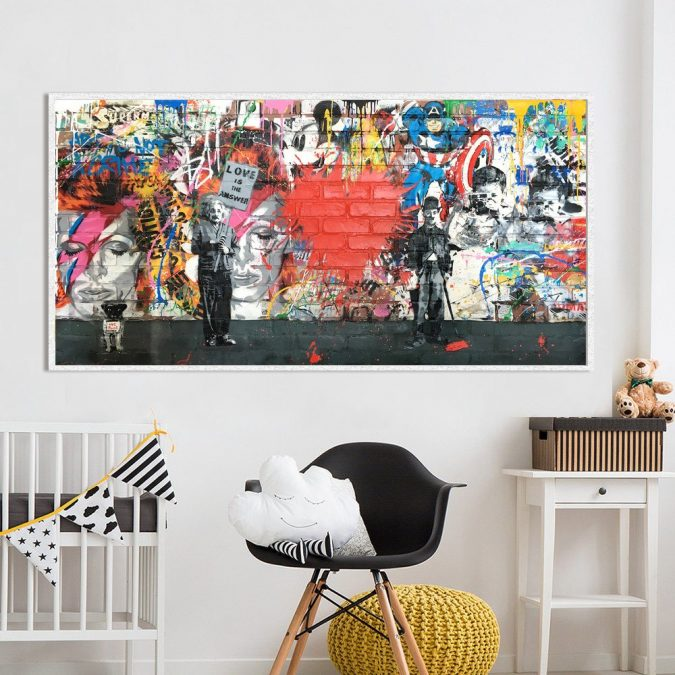 home-decor-Street-art-675x675 Street art at home? You can count us in!