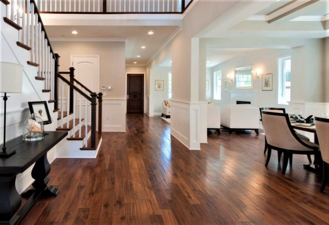 home-decor-wood-flooring-Garrison-Deulxe-Walnut-Natural-Sherman-Oak-Home-Builders-675x462 Underfloor Heating and Wood Flooring: What You Need to Know Before Installation