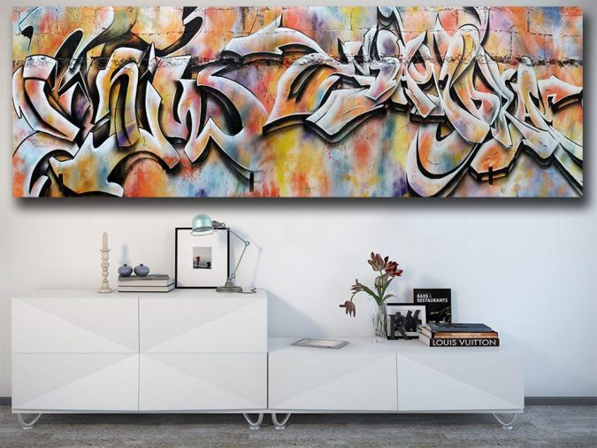 home-deor-Street-art-675x506 Street art at home? You can count us in!
