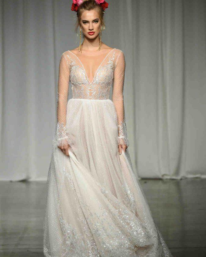 julie-vino-wedding-dress-fall2019-11_vert-675x844 150+ Bridal Fashion Trends and Ideas for Fall/winter 2019