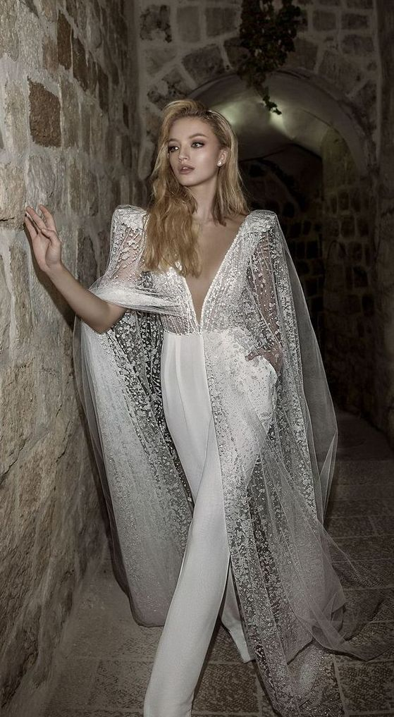 jumpsuit-2019 150+ Bridal Fashion Trends and Ideas for Fall/winter 2019