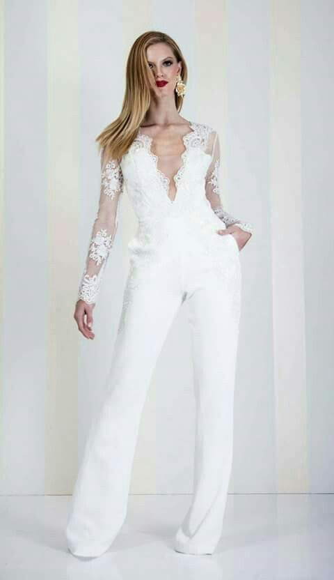 jumpsuit. 150+ Bridal Fashion Trends and Ideas for Fall/winter 2019