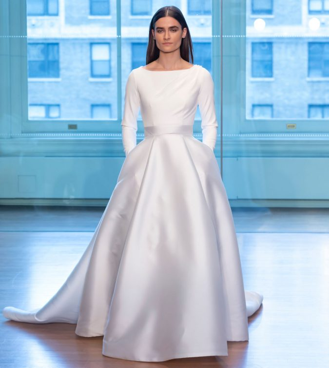 justin-alexander-bridal-2019-collection01-675x754 150+ Bridal Fashion Trends and Ideas for Fall/winter 2019