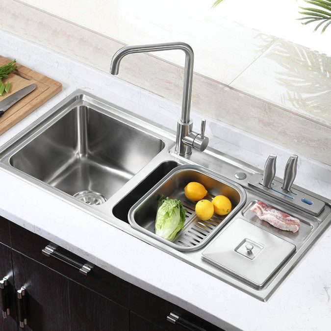 kitchen-multifunctional-sink-1-675x675 Top 10 Stylish and Practical Kitchen Design Trends for 2020
