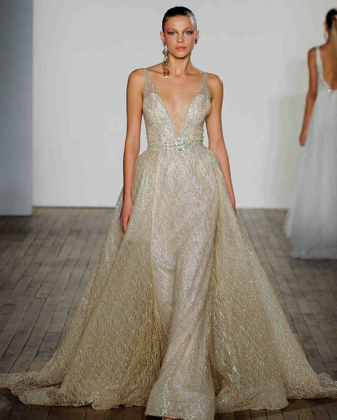 lazaro-wedding-dress-fall2019-03_vert-675x842 150+ Bridal Fashion Trends and Ideas for Fall/winter 2020