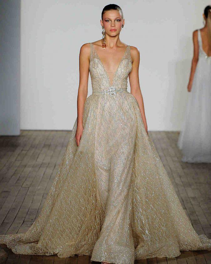 lazaro-wedding-dress-fall2019-03_vert-675x842 150+ Bridal Fashion Trends and Ideas for Fall/winter 2020