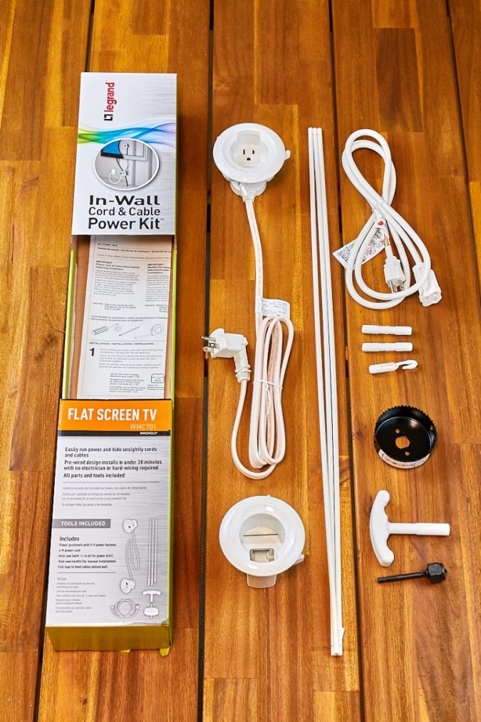 legrand-TV-power-kit-2-675x1013 Legrand In-wall TV Power Kit: How to Hide the TV Wires Elegantly