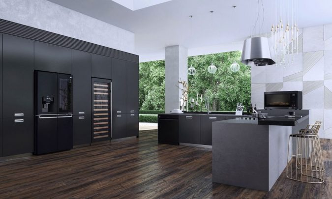 matte-black-kitchen-675x405 Top 10 Stylish and Practical Kitchen Design Trends for 2019