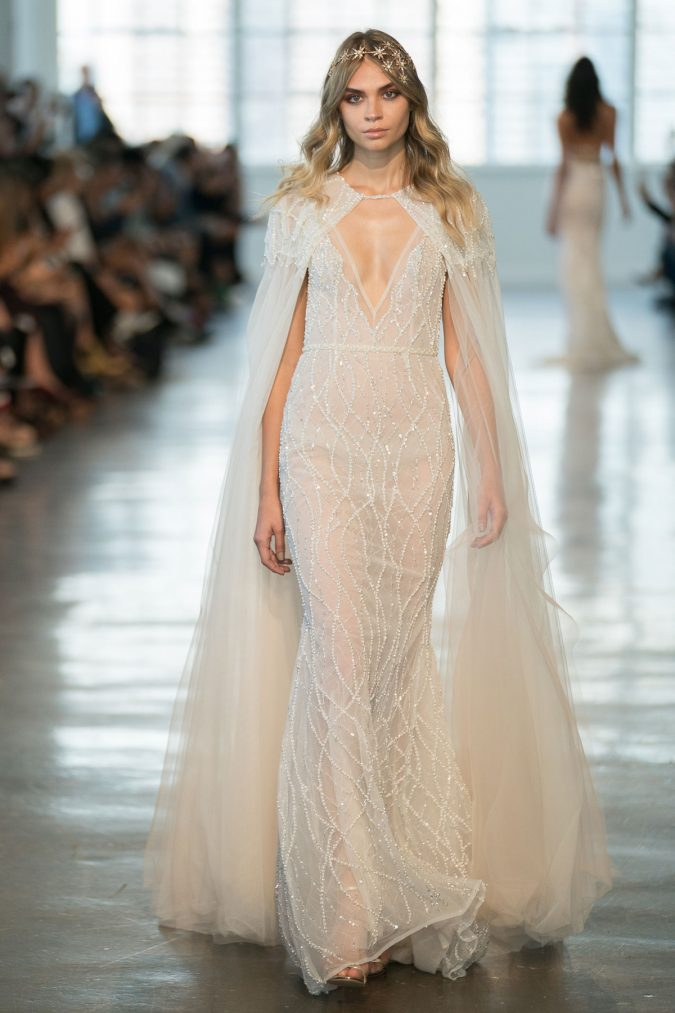 neckline-trend-2019.-675x1013 150+ Bridal Fashion Trends and Ideas for Fall/winter 2020