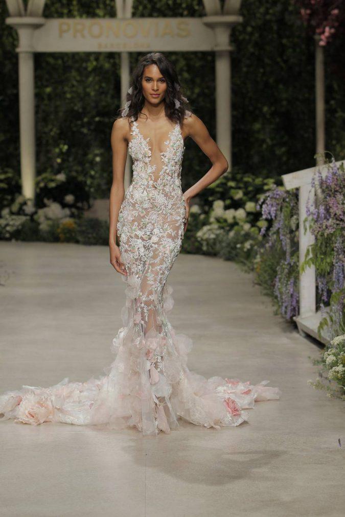 pronovias_046-675x1012 150+ Bridal Fashion Trends and Ideas for Fall/winter 2019