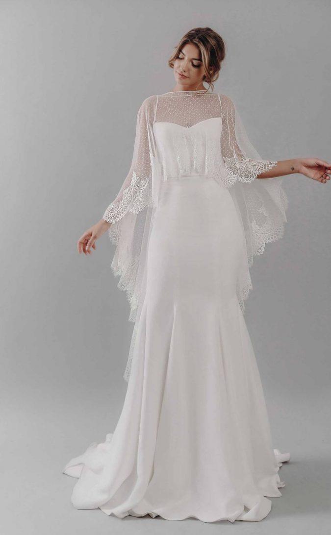 stephanie-allin-2019-dakota-front-675x1092 150+ Bridal Fashion Trends and Ideas for Fall/winter 2019