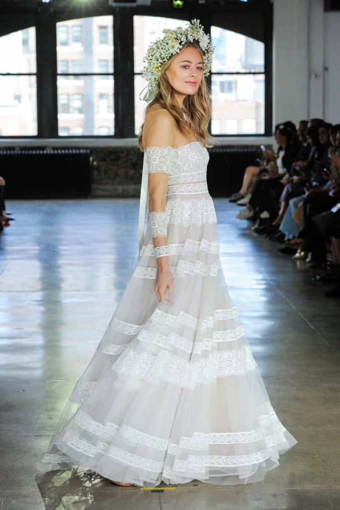 stripes-675x1013 150+ Bridal Fashion Trends and Ideas for Fall/winter 2019