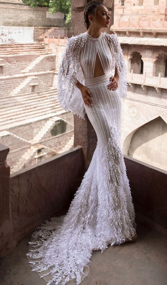 stripped-boho-2019 150+ Bridal Fashion Trends and Ideas for Fall/winter 2020