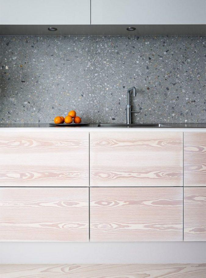 terrazzo-kitchen-backsplash-675x910 Top 10 Stylish and Practical Kitchen Design Trends for 2019