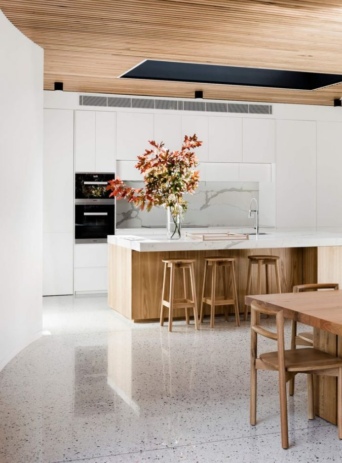 terrazzo-kitchen-floor-675x913 Top 10 Stylish and Practical Kitchen Design Trends for 2020