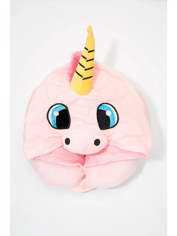 unicorn-hooded-travel-pillow-2-675x900 Hooded Unicorn Travel Pillow