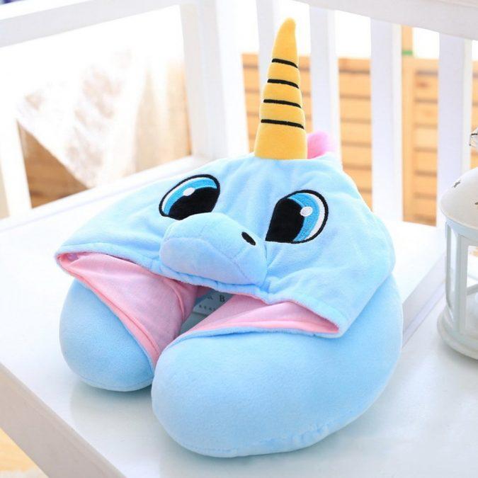unicorn-hooded-travel-pillow-675x675 Hooded Unicorn Travel Pillow