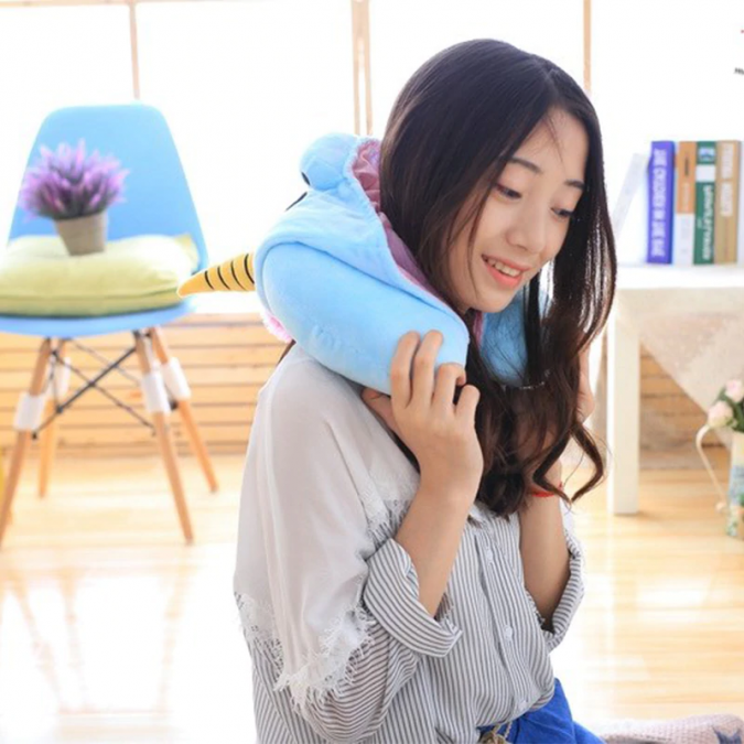 unicorn-hooded-travel-pillow-e1544568318126-675x675 Hooded Unicorn Travel Pillow