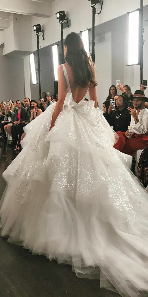 wedding-dresses-fall-2019-4 150+ Bridal Fashion Trends and Ideas for Fall/winter 2019