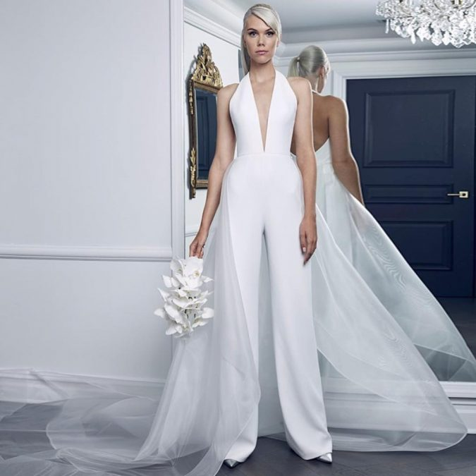wedding-jumpsuit-2-675x675 10 Outdated Wedding Trends to Avoid in 2019