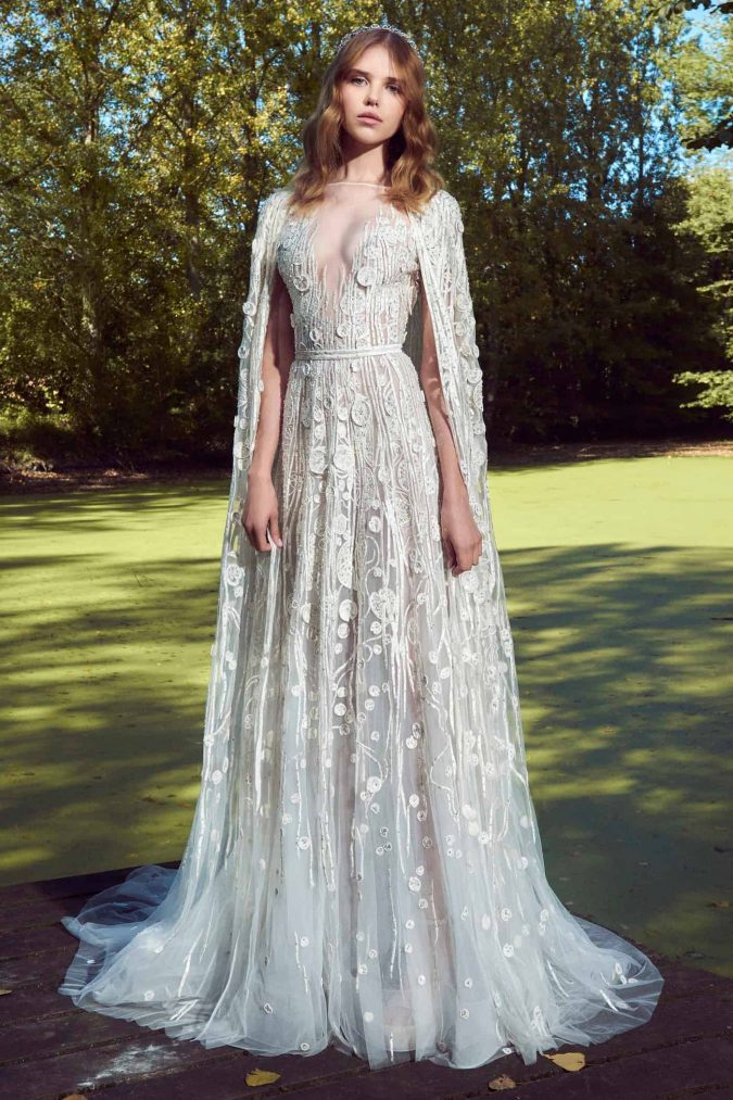 zuhair-murad-fall-2019-bridal-1-675x1013 150+ Bridal Fashion Trends and Ideas for Fall/winter 2019