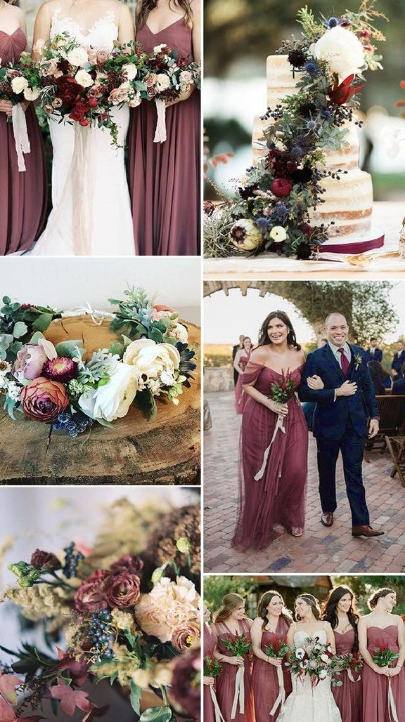 13d082bdfdef43925fbcf23143ce0b33 Trend Forecasting: Top 15 Expected Wedding Color Ideas for 2019
