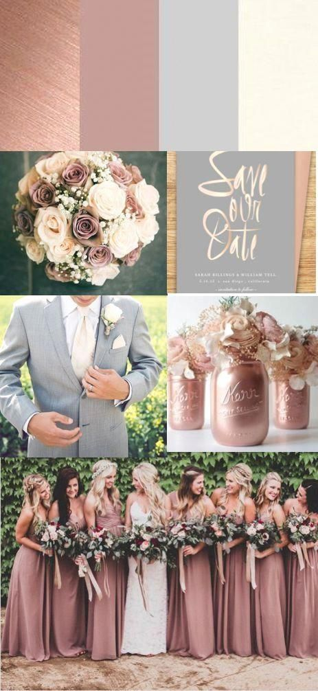 268977a0fa8c4dcd06dce109dc354190-1 Trend Forecasting: Top 15 Expected Wedding Color Ideas for 2019
