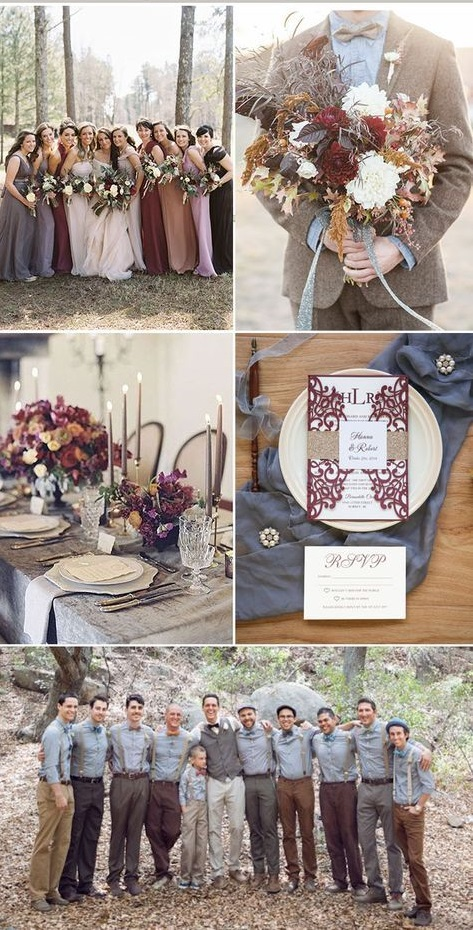 5e6f8c1e733bdb83a220f8beb9f72d96 Trend Forecasting: Top 15 Expected Wedding Color Ideas for 2019