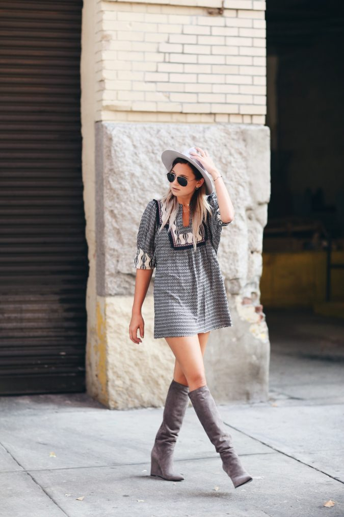 Boho-Outfits-21-675x1013 5 Tips to Wearing Last Year's Summer Clothes This Winter