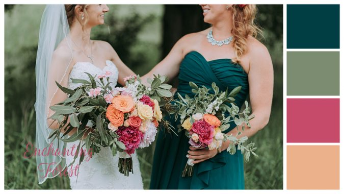 Enchanting-Forest-675x380 Trend Forecasting: Top 15 Expected Wedding Color Ideas for 2021
