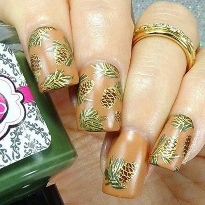Nail-Art-design-2-675x676 60+ Most Fabulous Winter Nail Design Ideas This Year