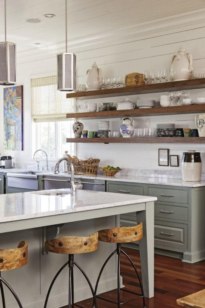 Open-Shelving--675x1012 15+ Outdated Home Decorating Trends Coming Back in 2020