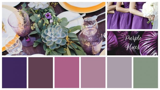 Purple-Hues-675x380 Trend Forecasting: Top 15 Expected Wedding Color Ideas for 2019