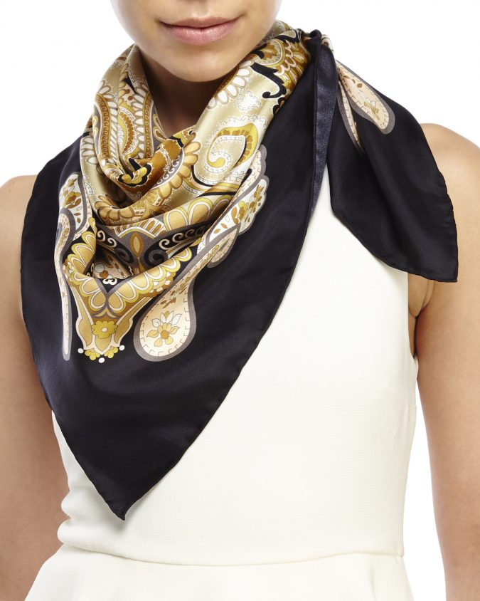 Silk-Scarves-675x844 5 Tips to Wearing Last Year's Summer Clothes This Winter