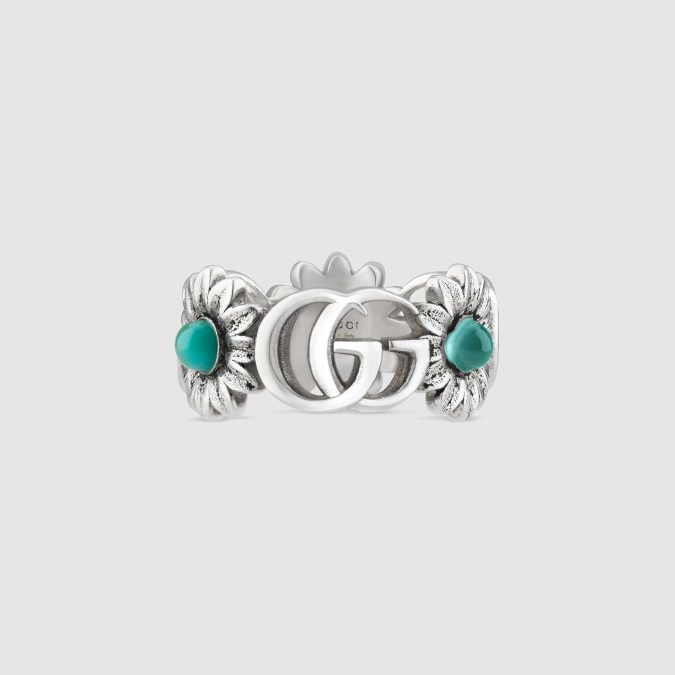 Silver-ring-Gucci-Light-Double-G-flower-ring-675x675 60+ Stellar Sterling Silver Rings for Women